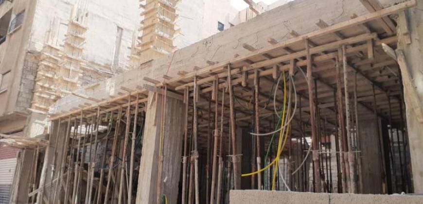 بناء بالشعلان تجاري و سكني قيد الإنشاء