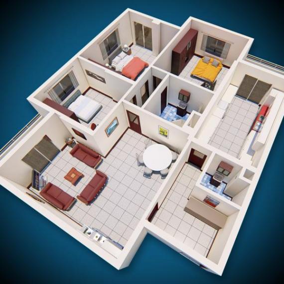شقة سكنية - منزل