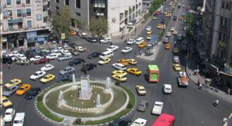 تراس في ساحة المحافظة للبيع يصلح للمطعم أو مقهى اطلالة على ساحة المحافظة وفندق الشام