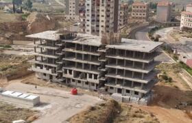 بناء سلمى ضاحية قدسيا – مشروع 2020 قيد الإكساء