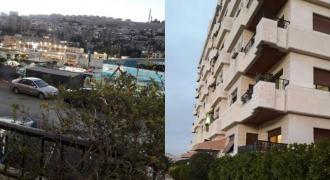 شقة للبيع خلف مجمع الأب تاون مشروع دمر إطلالة جميلة إكساء سوبر