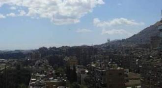 شقة للبيع وسط دمشق – شرقي ركن الدين
